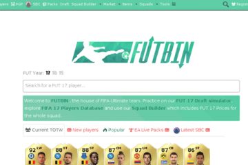 FUTBIN un site indispensable