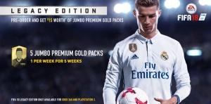 Edition legacy fifa 18