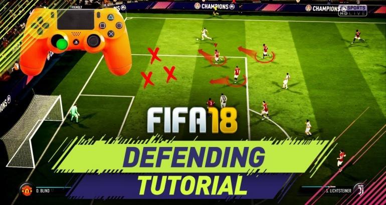 FIFA 18: Astuce pour avoir une bonne défense!