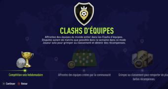 FUT 18: Qu'est-ce que le clash d'équipes?