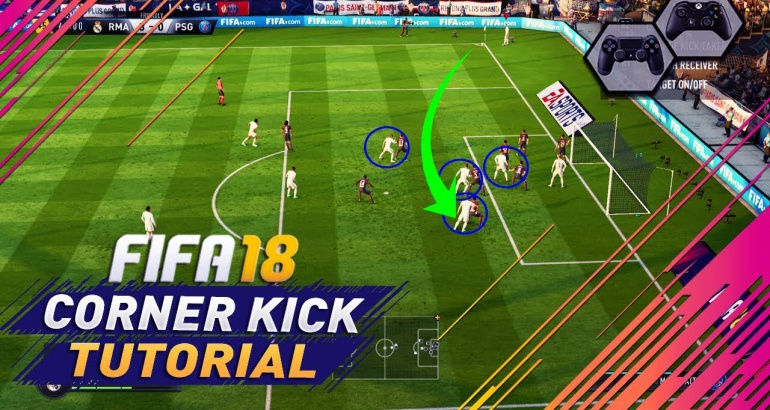 Comment marquer un but sur corner direct sur FIFA ?